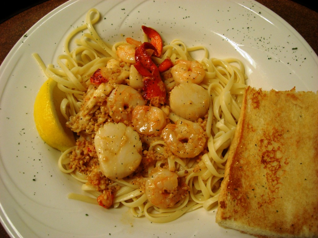Seafood Scampi