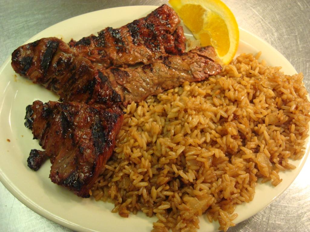 SteakTips&Rice